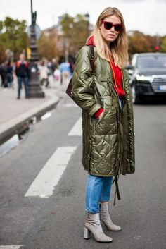 30 Brilliant Street Style Moments From 2016 #refinery29 http://www.refinery29.com/2016/12/133987/best-street-style-2016#slide-4 Fashion buyer Annabel Rosendahl showed us how to do parka coats and ankle boots — two of autumn's biggest trends....