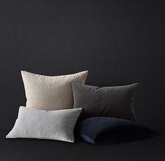 Velvet Axis Pillow Cover