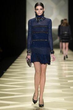 Roberto Cavalli Fall 2013 Collection Milan Fashion Week - Dramatic, intriguing, seductive