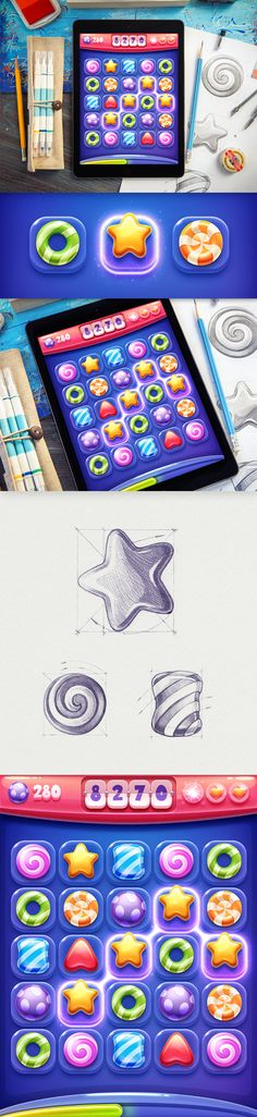 Dribbble - iOs_game_-_real_size.jpg by Mike | Creative Mints