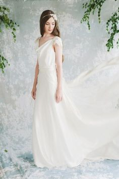 Wedding dress available from  The White Closet bridal boutique in Manchester and Liverpool - celebrating wedding style, not convention.