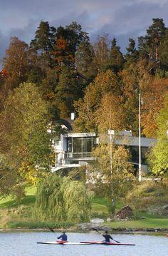Villa Rønnestad, Broveien 19, 1397 Nesøya, Norway (2008) - by Lund Hagem Arkitekter AS http://www.lundhagem.no