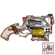 #drawing #pencil#painting #digital #colorfull #colorful #gun#guns #revolver #cartoon #animation #fantasy #illustration #art_work #art #artwork #comic #sketch #consept #biggun#bigguns #scifi #scifiart#sci_fi