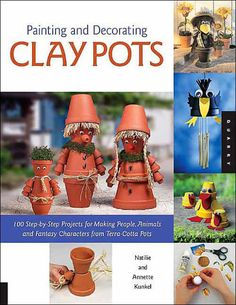 This book presents 100 decorative ideas and instruction for transforming ordinary clay pots into fun and decorative personalities. For both interior and exterior...