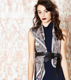 15 New Ways to Tie Your Scarf This Fall via @WhoWhatWearAU