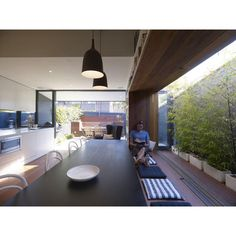 With a growing family on the horizon, our clients embraced the social and sustainable benefits of reworking their small, much-loved existing home to suit their future needs. With limited outdoor space this renovation needed to fit within the existing envelope, demanding fitness, interrogation and flexibility from the design. We envisaged the 6x4m room as the …