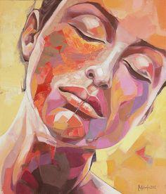 "Saatchi Online Artist: sorin dumitrescu mihaesti; Acrylic, Painting ""Portrait 0059"""