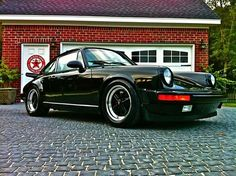Porsche 911 .... will always remind me of sitting in my mom's 911, in our garage with Belinda...
