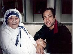Today Mother Teresa officially became a saint. What happens when Mother Teresa asks for your business card? Here's a personal story of my time with her and how she helped a new writer care for the dying. . Comment and share if she has touched your life. If you are in grief, free video to help at www.aboutgrief.com