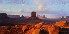 Calvin Liang - Light at Monument Valley