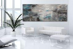 Massive Original Abstract Art Smokey Gray and by originalmodernart, $749.00
