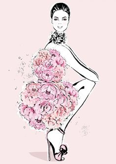 Peonies meet fashion in limited edition Megan Hess illustrations for Mother's Day Source by vitalan art Art And Illustration, Megan Hess Illustration, Fashion Illustration Sketches, Fashion Sketches, Drawing Fashion, Art Illustrations, Art Sketches, Kerrie Hess, Tableaux Vivants