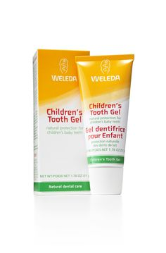 Children's Tooth Gel - Natural protection for children's baby teeth