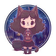 Hermione Granger l Harry Potter and the chamber of secrets Magia Harry Potter, Arte Do Harry Potter, Cute Harry Potter, Harry Potter Drawings, Harry Potter Anime, Harry Potter Characters, Harry Potter Fandom, Harry Potter Universal, Harry Potter Memes