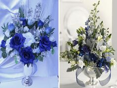 How To Use Blue Flowers For Weddings Wedding Clan | Good Morning ...