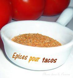 Mélange d'épices pour tacos | Une Plume dans la Cuisine