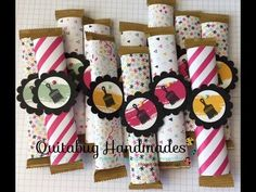 Fun Fast Friday: Stampin' Up! Easy Halloween Treat Bag Topper - YouTube