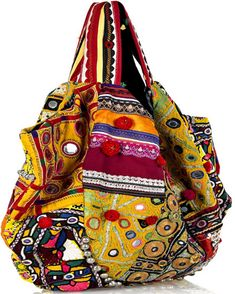 paulagold:    Handmade Shoulder Bag by Simone Camille    for a mere $1860.00 … I may have a bag fetish but………… :O