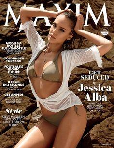 Maxim September 2014 Cover