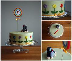 Dort krtek / Little mole cake by deLucious