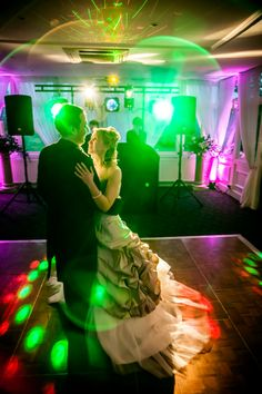First dance in the conservatory at Chilston Park, Lenham, Kent