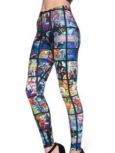 St Vitus MF Leggings (AU $75AUD / US $60USD) by Black Milk Clothing