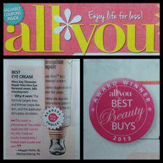 Timewise Repair Volufirm Eye Cream... Best Beauty Buy 2013!  www.marykay.com/twjones04