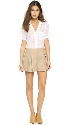 RED Valentino Pleated Shorts Pleated Shorts, Summer Shoes, Valentino, Your Style, Short Dresses, Spring Summer, Red, Fashion Design, Shopping