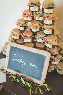 Cadeaux invités, confiture mariage, Décoration mariage, fleuriste mariage Lyon