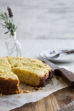 I Quit Sugar - Lime + Poppy Seed Cake from the IQS Slow Cooker Cookbook.