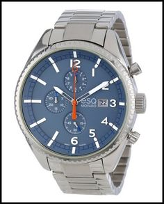 ESQ Movado Men's 07301428 Slate-Tone Dial Chronograph Watch