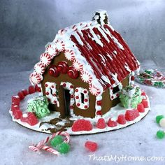 Christmas Gingerbread House - My Honeys Place