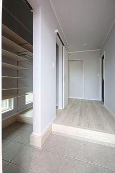 Room Interior, Tile Floor, Entrance, Stairs, Closet, House, Home Decor, Instagram, Little Cottages