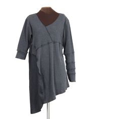 The Mussel Collector tunic - Secret Lentil Clothing
