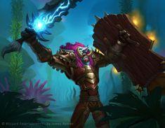 #wowtcg #warcraft #troll #warrior #guerrier