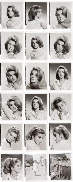 """Ann-Margaret hair test shots for """"Viva Las Vegas"""" (July 1963)"""