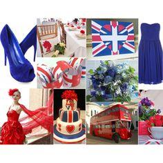 Theme Thursday: Anglophile Wedding Style