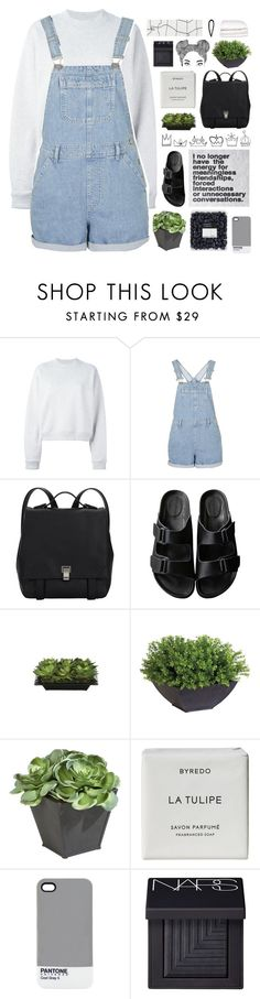 """ellie // tag"" by anavukadinovic on Polyvore featuring Acne Studios, Topshop, Proenza Schouler, American Rag Cie, Lux-Art Silks, Ethan Allen, Byredo, Pantone, NARS Cosmetics and Selfridges"