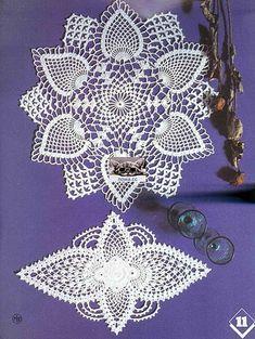 """ru / ConnieMounts - Альбом """"CR - Tricot Selection Crochet dArt - No Crochet Mandala, Crochet Motif, Crochet Doilies, Crochet Patterns, Crochet Home, Crochet Crafts, Filet Crochet Charts, Crochet Bedspread, Fiber Art"""