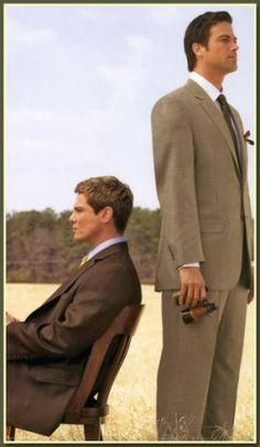 The making of a modern, fashionable man. http://www.menssuitseparates.com/