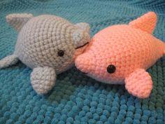 diy crochet dolphins