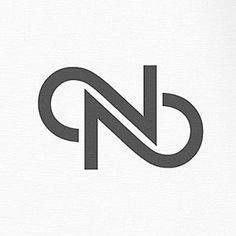 Logos of the Alphabet - letter N logo