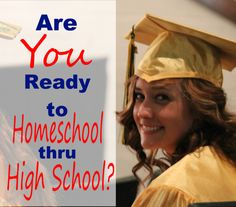 Are YOU ready to homeschool through High School?  Find out 3 simple things you MUST do to be ready!!  Hs_hs_imageSQ