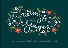 29 best business holiday cards images on pinterest business greetings of the seasons business holiday cards m4hsunfo