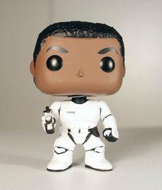 Funko POP Star Wars Episode 7 The Force Awakens Finn as Stormtrooper  #StarWars #Finn #Stormtrooper #toys #FunkoPop #collectorsitem