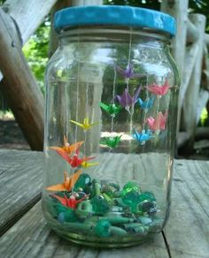 I think this in a large jar would be cute