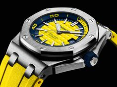 TimeZone : Industry News » SIHH 2017 - Audemars Piguet Royal Oak Offshore Diver