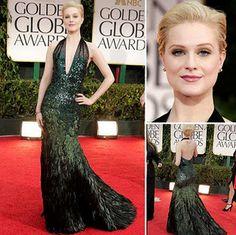 Golden Globe Awards - The Fashion Hits - Evan Rachel Wood