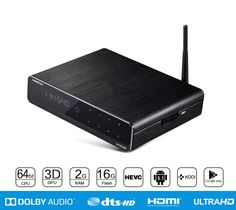 Q10 Pro Android TV Box 3D 4K UHD HIMEDIA H8 Smart Set Top Box Quad Core Dual WiFi KODI 16.0 DTS Dolby Google Play Store IPTV