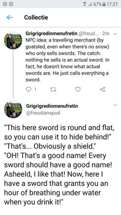 dungeons and dragons Homebrewing An idea : dndmemes Dungeons And Dragons Memes, Dungeons And Dragons Homebrew, Writing Tips, Writing Prompts, Tumblr Funny, Funny Memes, Hilarious, Dnd Stories, Tenacious D